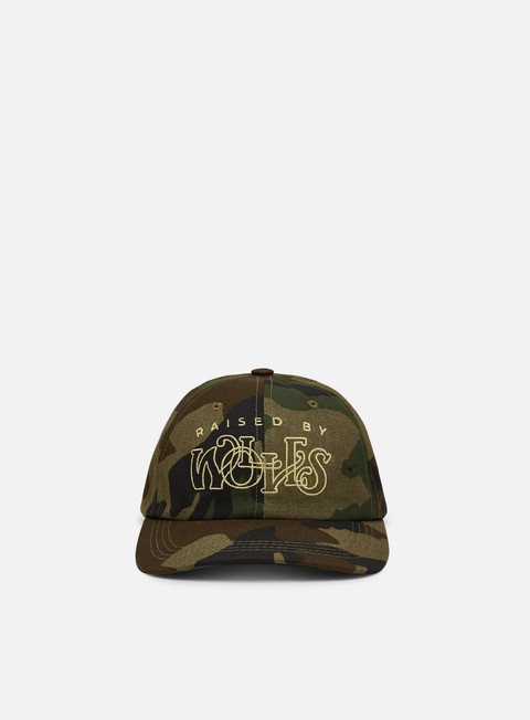 Cappellini Visiera Curva Raised By Wolves Menthol Dad Cap