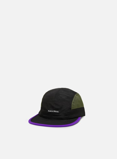 5 Panel Caps Raised by Wolves Running Cap