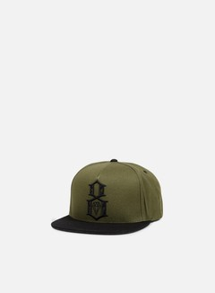 Rebel 8 - Army Logo Snapback, Army/Black 1