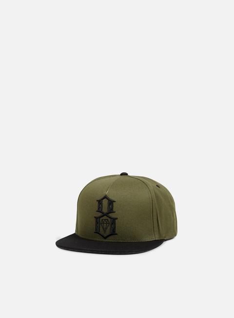 cappellini rebel 8 army logo snapback army black