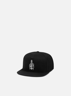 Rebel 8 - Go Fuck Yourself Snapback, Black 1