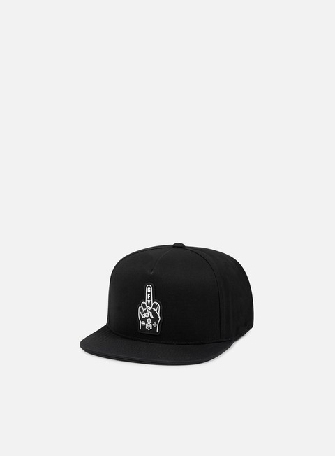 cappellini rebel 8 go fuck yourself snapback black