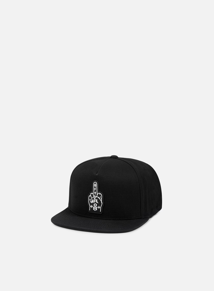 Rebel 8 - Go Fuck Yourself Snapback, Black