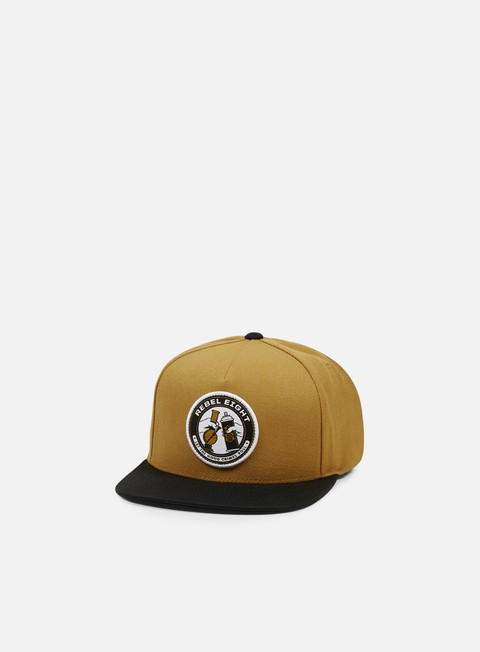 cappellini rebel 8 good crimes snapback brown black