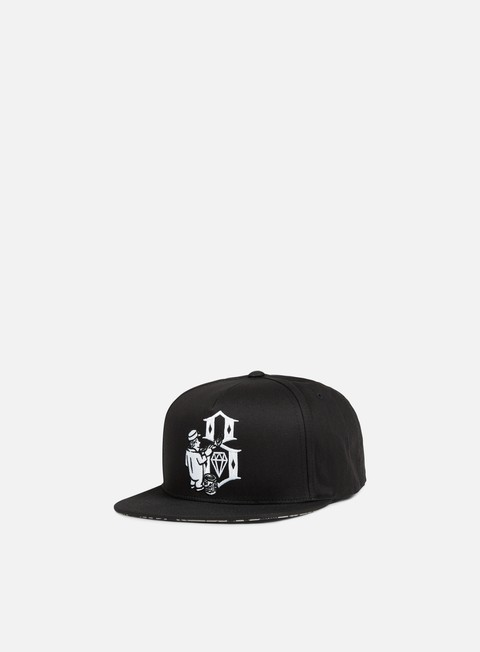 cappellini rebel 8 hit the walls snapback black
