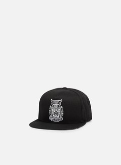 Rebel 8 - Night Watch Snapback, Black