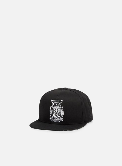 cappellini rebel 8 night watch snapback black