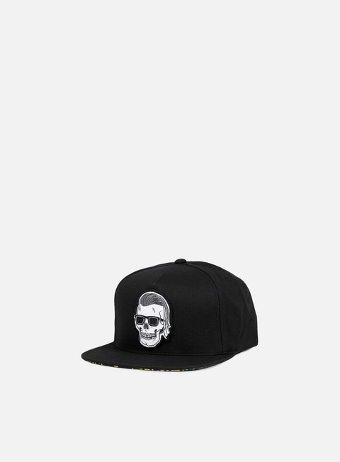 cappellini rebel 8 sleeze snapback black