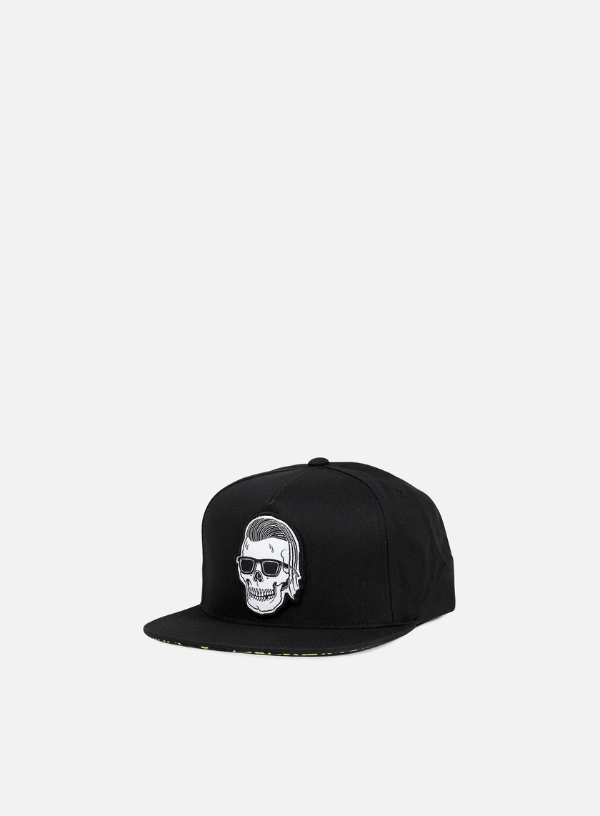 Rebel 8 - Sleeze Snapback, Black