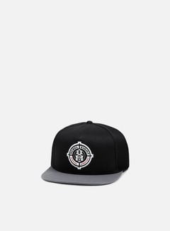 Rebel 8 - Special Operations Snapback, Black/Dark Grey 1