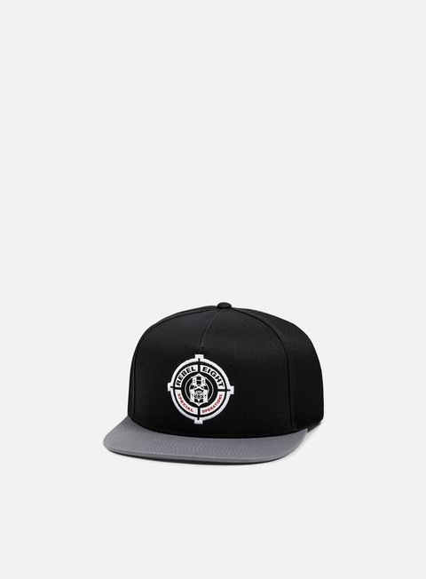 cappellini rebel 8 special operations snapback black dark grey