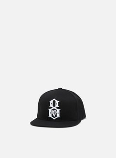 Rebel 8 - Standard Issue Logo Underbrim Snapback, Black 1