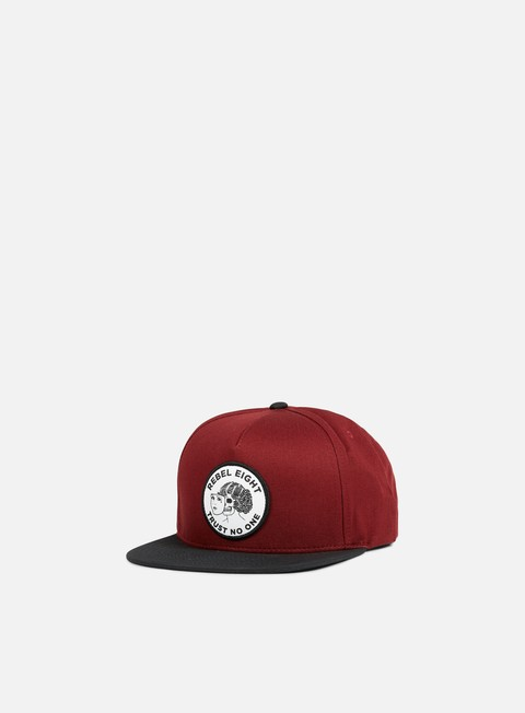 cappellini rebel 8 two faced snapback burgundy
