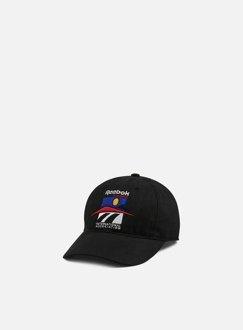 Curved Brim Caps Reebok CL GR International Association Cap