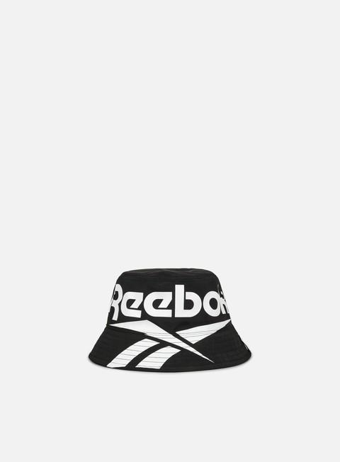 cappellini reebok classics vector bucket hat black