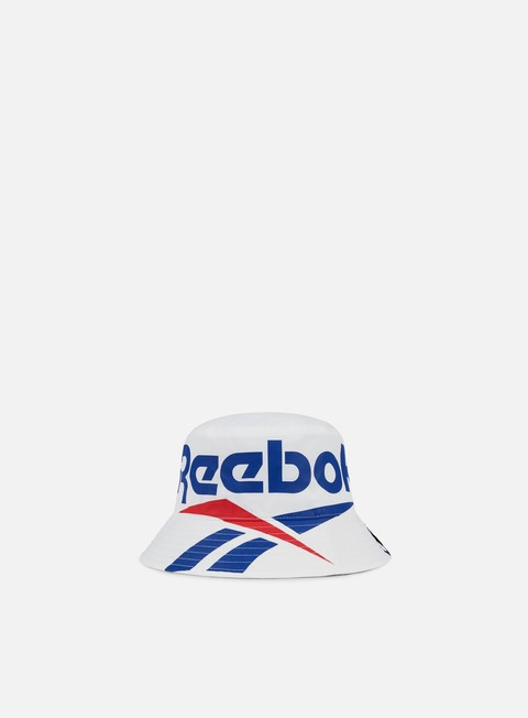 cappellini reebok classics vector bucket hat white