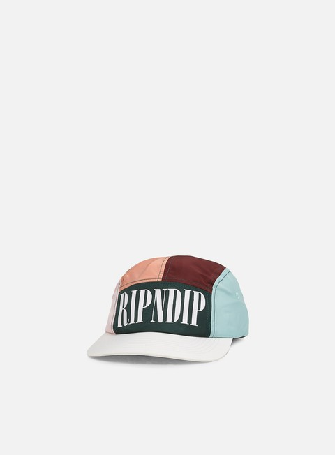 Cappellini 5 Panel Rip N Dip Chromatic Camper Cap