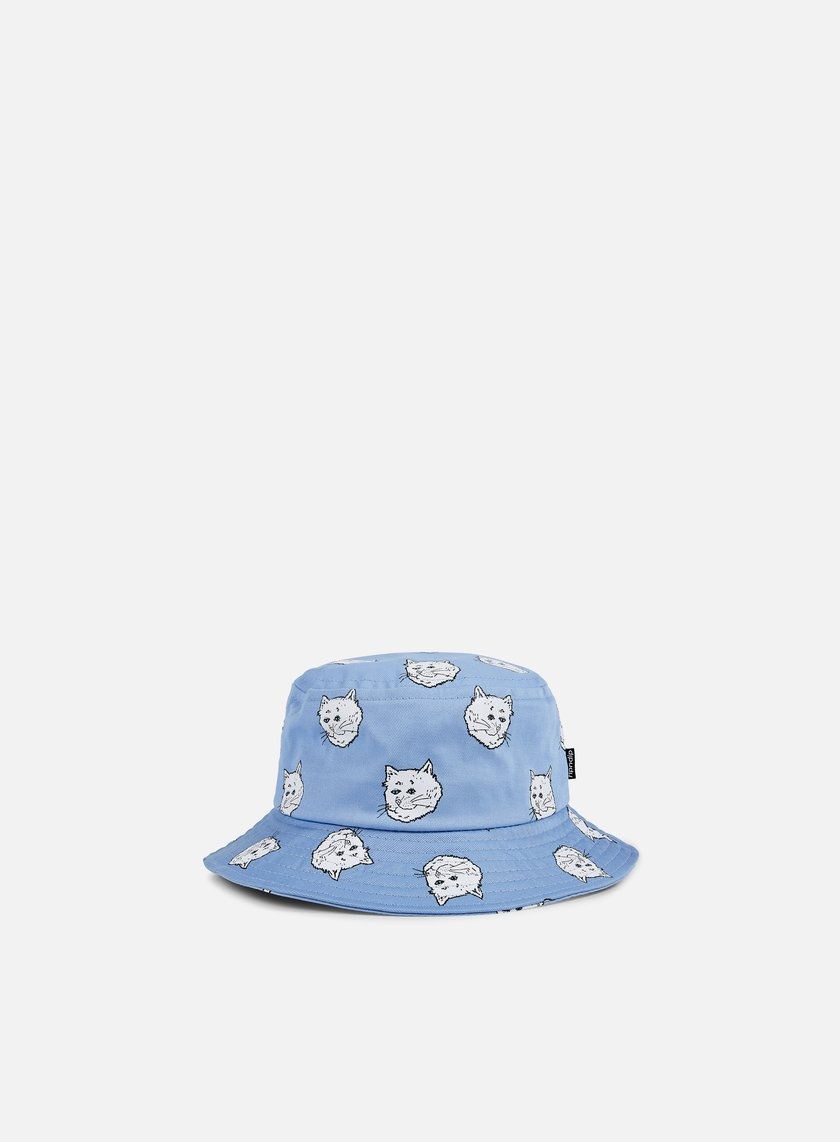 Rip N Dip - Cream Bucket Hat, Baby Blue