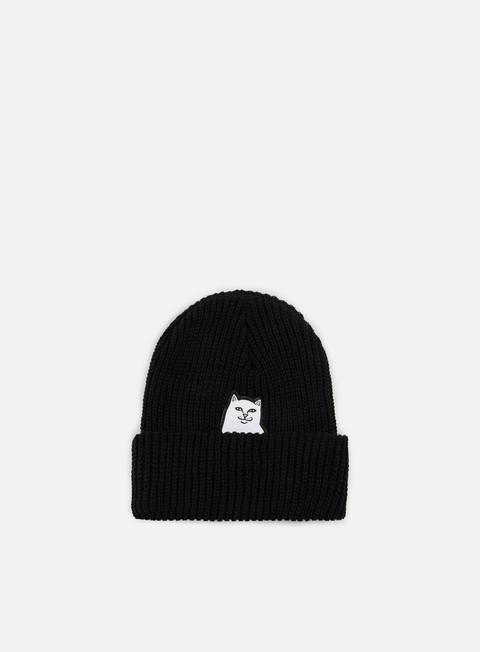 cappellini rip n dip lord nermal knit beanie black