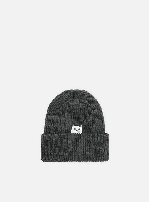 cappellini rip n dip lord nermal knit beanie charcoal