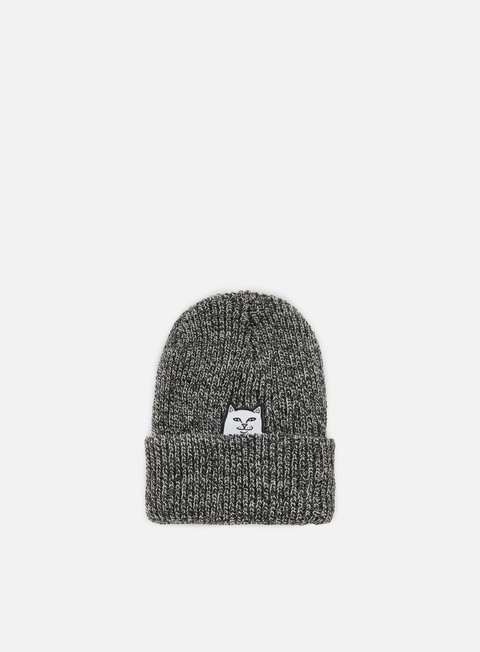 cappellini rip n dip lord nermal knit beanie grey speckled