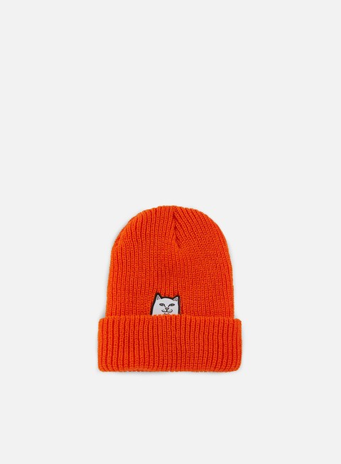 cappellini rip n dip lord nermal knit beanie safety orange