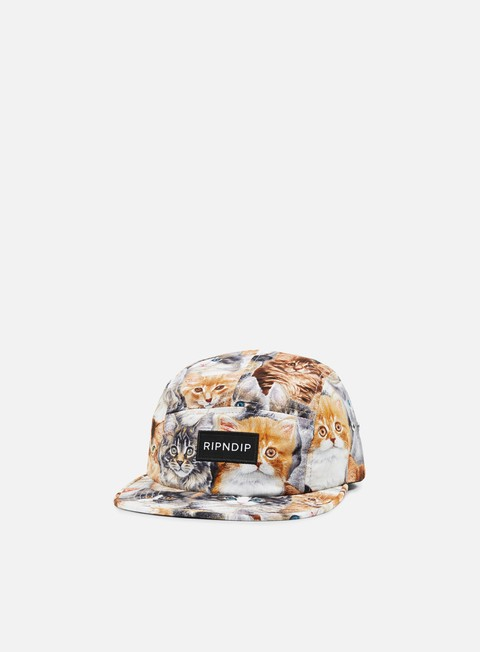 5 Panel Caps Rip N Dip Nermal Camper Cap