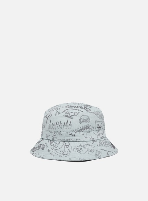Cappellini Bucket Rip N Dip Sharpie Bucket Hat
