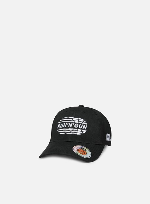 cappellini run n gun logo embroidery daddy hat black