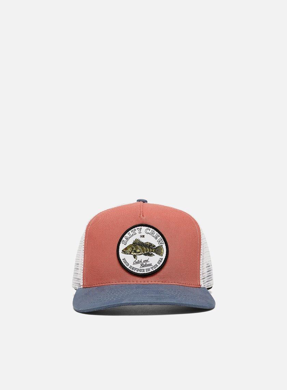 Salty Crew Baybass Retro Trucker Hat