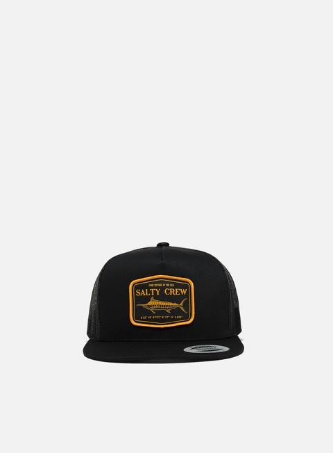 Curved Brim Caps Salty Crew Stealth Trucker Hat