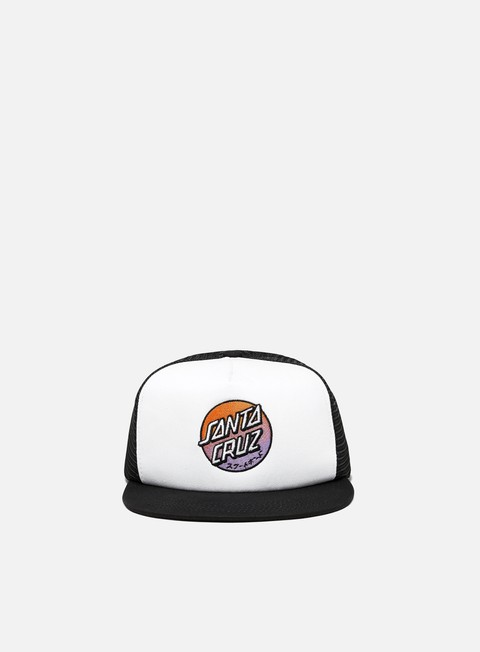 Cappellini con visiera Santa Cruz Crossover Fade Meshback Hat