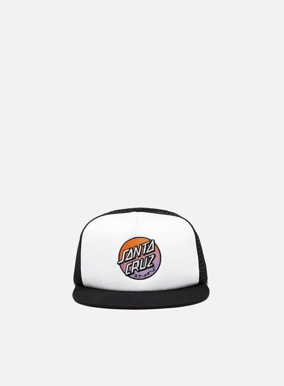 Santa Cruz Crossover Fade Meshback Hat