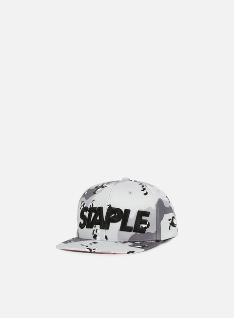 cappellini staple concrete snapback heather grey