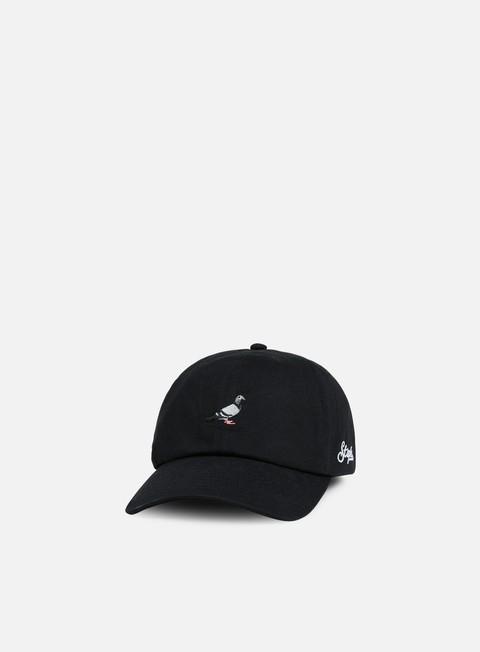cappellini staple pigeon script cap black