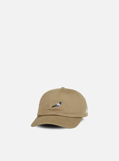 cappellini staple pigeon script cap khaki
