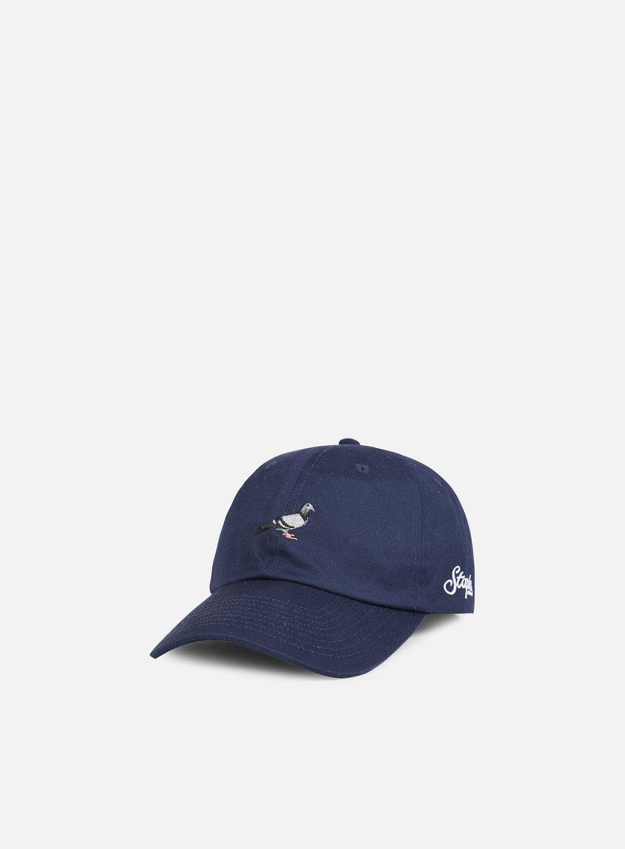 1c09f54a9e769 STAPLE Pigeon Script Cap € 35 Snapback Caps