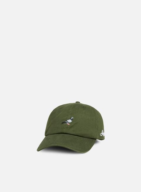 Cappellini con visiera Staple Pigeon Script Cap