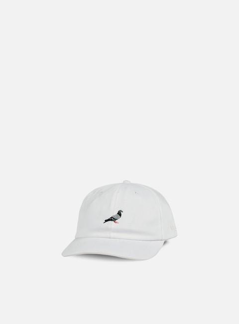 cappellini staple pigeon script cap white