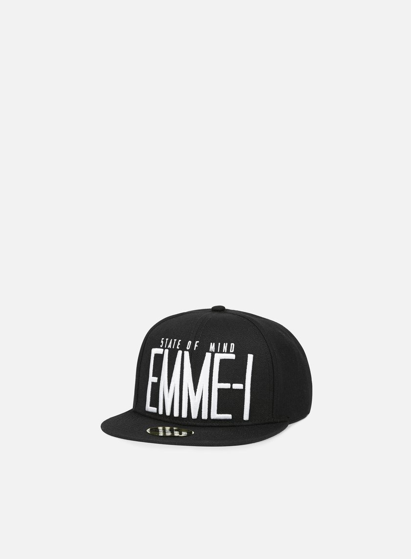 State Of Mind - Emme-I Celebration II Snapback, Black