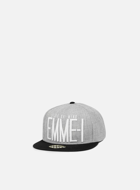cappellini state of mind emme i celebration ii snapback heather grey