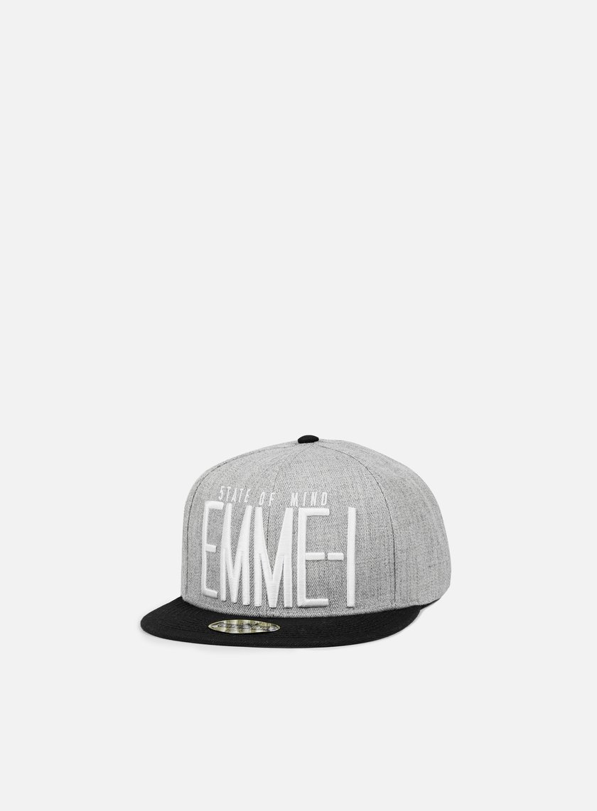 State Of Mind - Emme-I Celebration II Snapback, Heather Grey