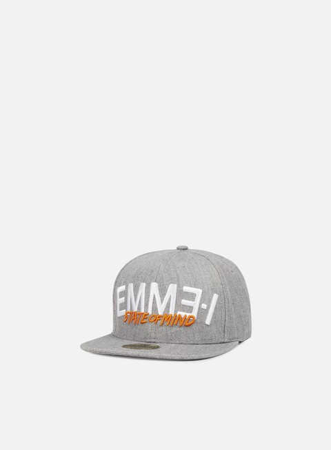 cappellini state of mind emme i celebration iii snapback heather grey