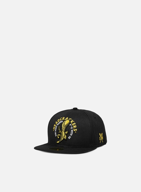 cappellini state of mind headcrackers ii patch snapback black
