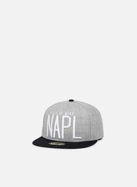 cappellini state of mind napl celebration ii snapback heather grey