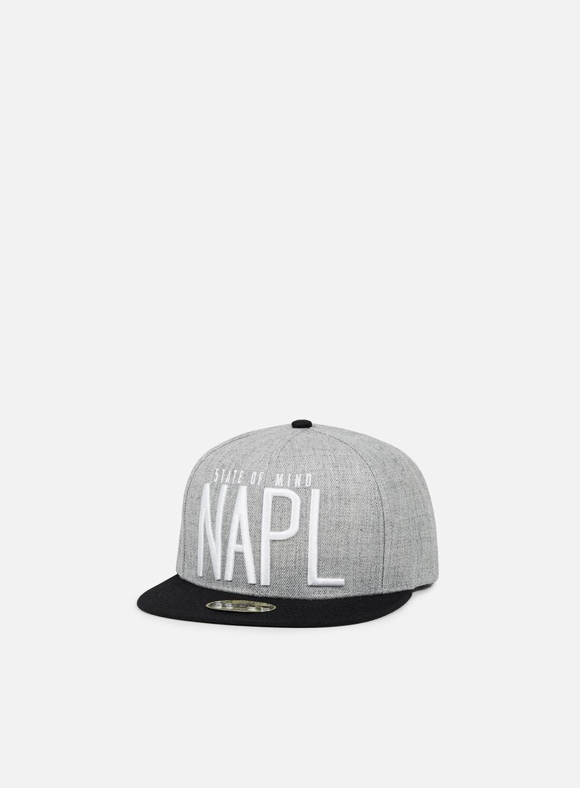 State Of Mind - Napl Celebration II Snapback, Heather Grey