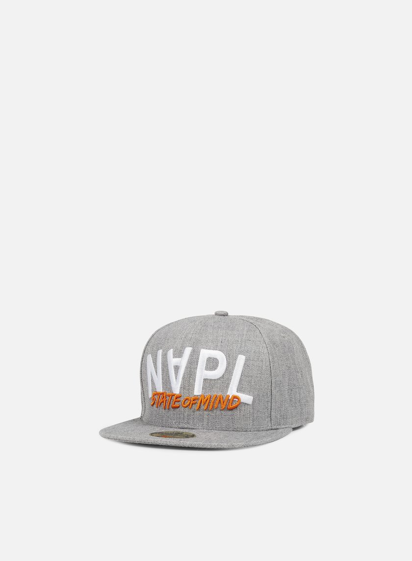 State Of Mind - Napl Celebration III Snapback, Heather Grey