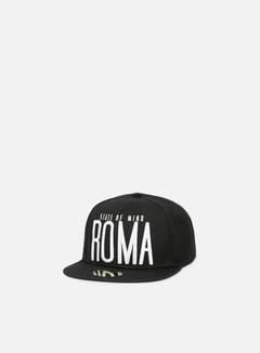 State Of Mind - Roma Celebration II Snapback, Black