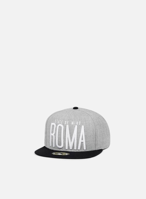 cappellini state of mind roma celebration ii snapback heather grey