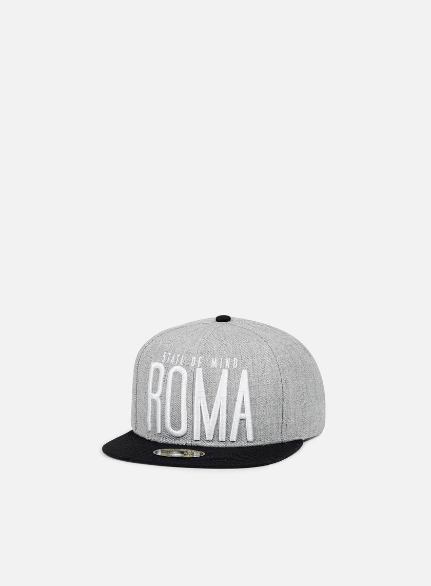 State Of Mind - Roma Celebration II Snapback, Heather Grey